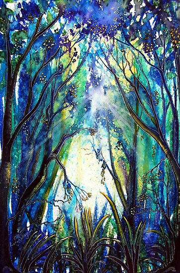 Treelight  by Linda Callaghan