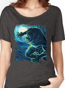 Blood Moon (Blue version) Women's Relaxed Fit T-Shirt