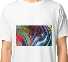 Colorful Ripples Classic T-Shirt