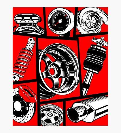 Car Culture Photographic Print