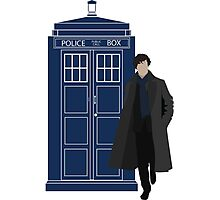 Dr. Who / Sherlock Photographic Print
