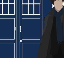 Dr. Who / Sherlock Sticker
