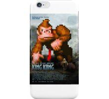 King Donkey Kong iPhone Case/Skin