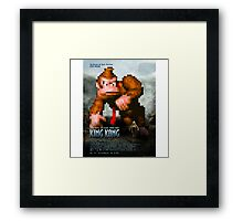 King Donkey Kong Framed Print