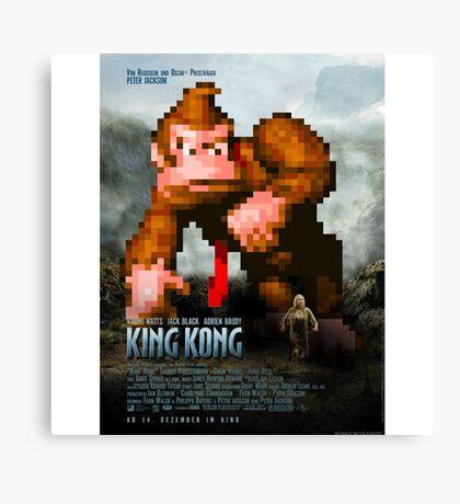 King Donkey Kong Canvas Print