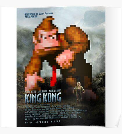 King Donkey Kong Poster