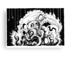 Worm Food Canvas Print