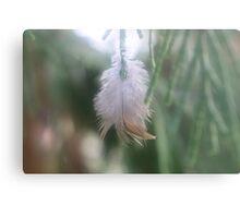 Feathery Joy Metal Print