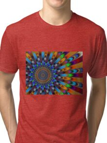 Burst Of Color Tri-blend T-Shirt