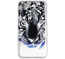black tiger iPhone Case/Skin