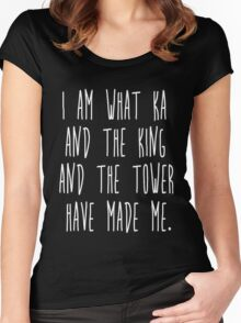 Ka and the King and the Tower Women's Fitted Scoop T-Shirt