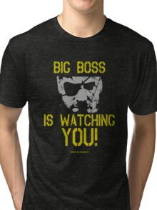 Big Boss Is Watching YOU! - Metal Gear Solid Design Tri-blend T-Shirt