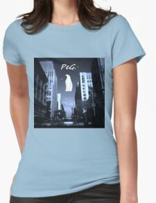 LOS ANGELES PeG. Womens Fitted T-Shirt