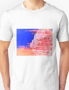 Into the Mist Pantone Color of the Year 2016 Abstract Unisex T-Shirt