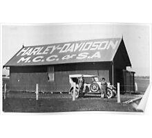 Harley Davidson MCC of SA Clubrooms 1926 Poster