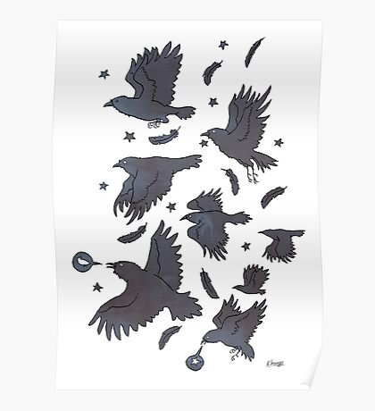 Flight of Ravens Poster