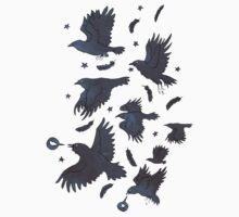 Flight of Ravens One Piece - Long Sleeve
