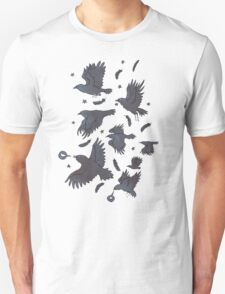 Flight of Ravens Unisex T-Shirt