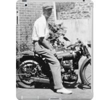 BSA Motorcycle iPad Case/Skin