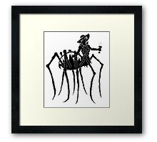 Black Widow at a Funeral Framed Print