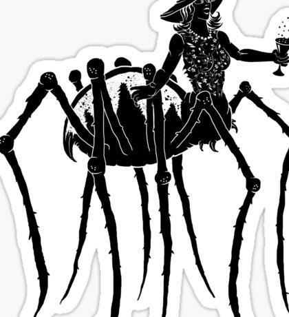 Black Widow at a Funeral Sticker