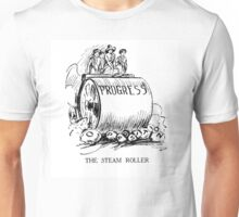 Steam Roller of Progress Unisex T-Shirt