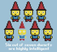 Six out of seven dwarfs are highly intelligent Baby Tee