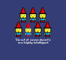 Six out of seven dwarfs are highly intelligent Unisex T-Shirt