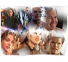 Buffy - Season 1-6 Big Bads Poster