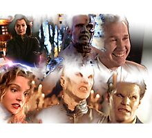 Buffy - Season 1-6 Big Bads Photographic Print