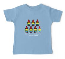 Six out of seven dwarfs are not happy Baby Tee