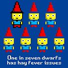 One in 7 dwarfs has hay fever issues by monsterplanet