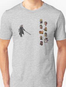 FFRK - Final Fantasy VII Final Fight - Avalanche vs Sephiroth (FF7) Unisex T-Shirt