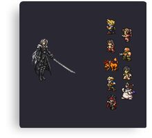 FFRK - Final Fantasy VII Final Fight - Avalanche vs Sephiroth (FF7) Canvas Print