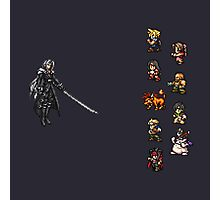 FFRK - Final Fantasy VII Final Fight - Avalanche vs Sephiroth (FF7) Photographic Print