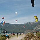 Kitesurfing at Akcapinar, Gokova, Akyaka - Turkey by taiche