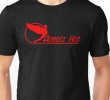 Almost Hot Beer Belly Angle Red Unisex T-Shirt
