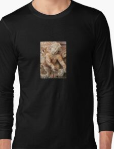 Ancient Marble Relief Of A Cherub Long Sleeve T-Shirt