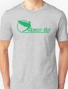 Almost Hot Beer Belly Angle Green T-Shirt