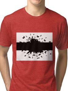 Frame of insects Tri-blend T-Shirt