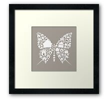 House the butterfly Framed Print