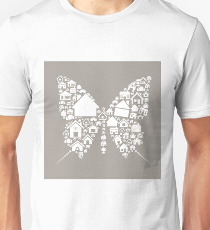 House the butterfly Unisex T-Shirt