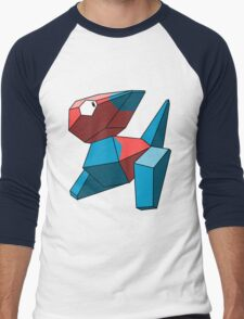 Porygon Men's Baseball ¾ T-Shirt