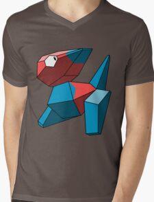 Porygon Mens V-Neck T-Shirt