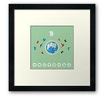 Nature world Framed Print
