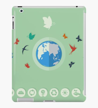 Nature world iPad Case/Skin