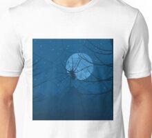 Spider at night Unisex T-Shirt