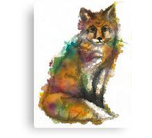 Nature Fox Canvas Print