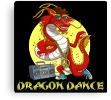 Dragon dance Canvas Print
