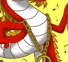 Dragon dance Sticker